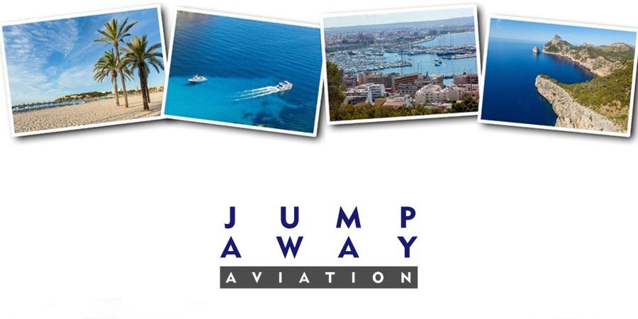 Logo von JUMP AWAY AVIATION - Ihr Partner für Charterflüge nach Mallorca